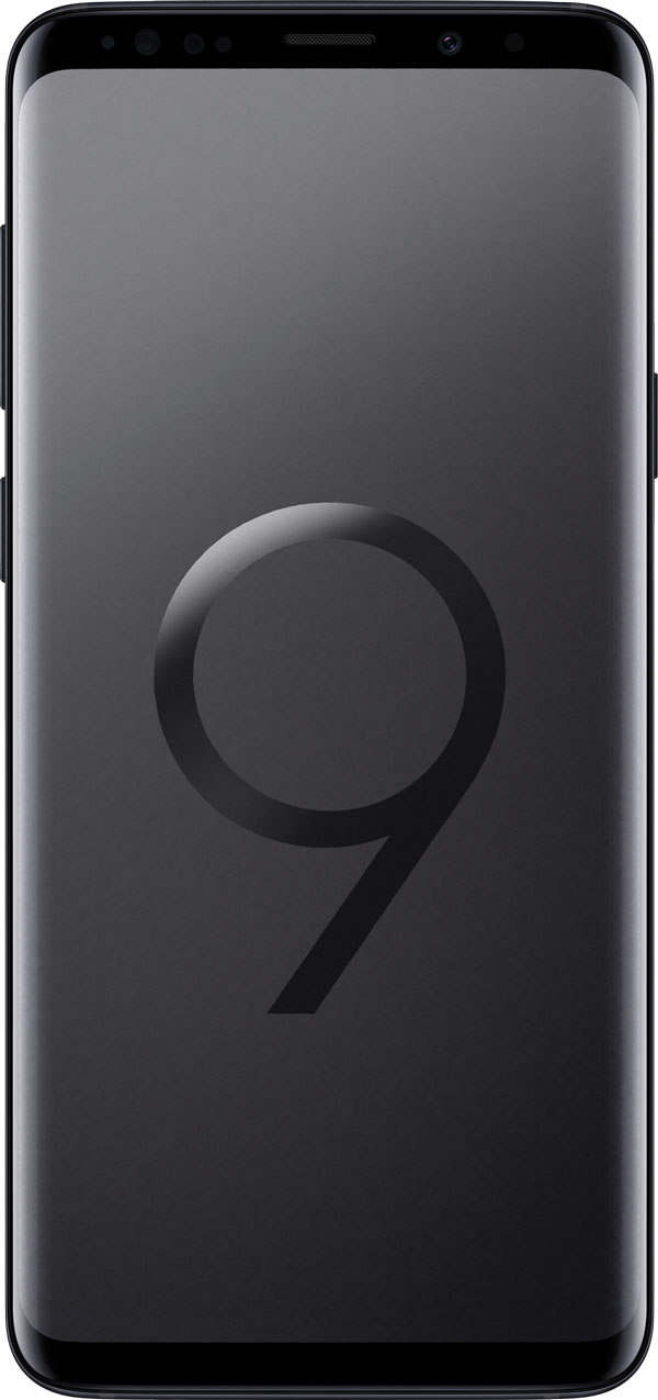 The Samsung Galaxy S9.