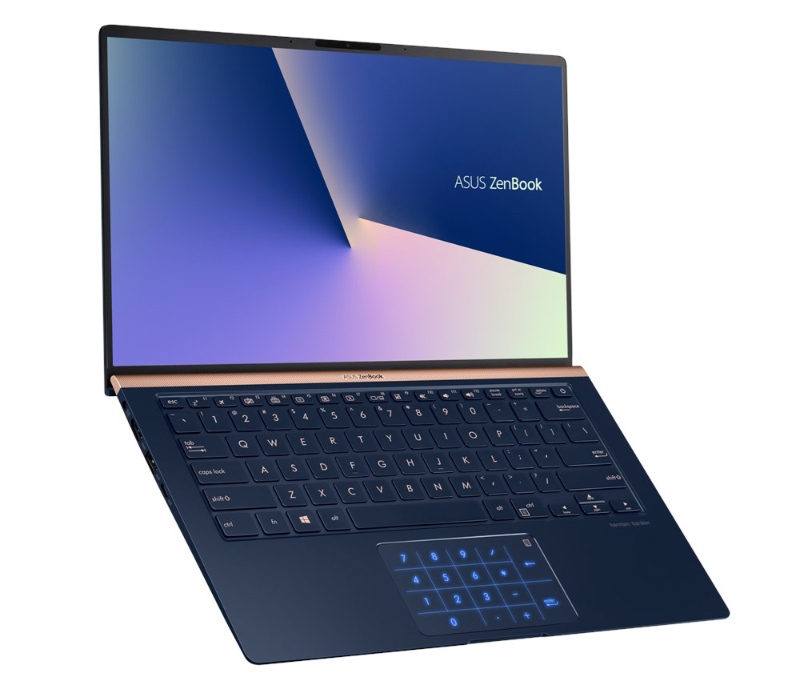 The new ASUS ZenBook 14 is a super compact 14-inch notebook that is smaller than most 13-inch notebooks.