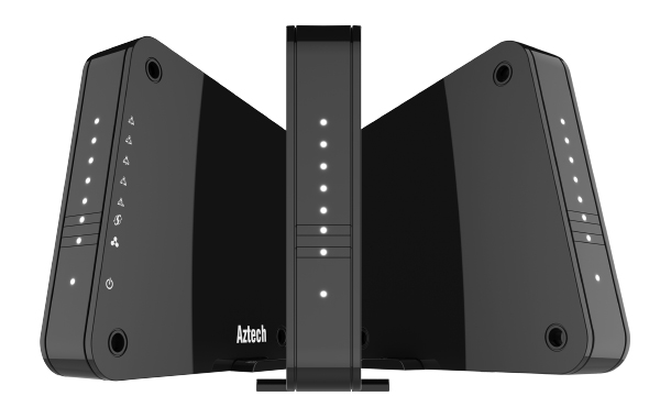 The Aztech WMB250AC mesh networking system.