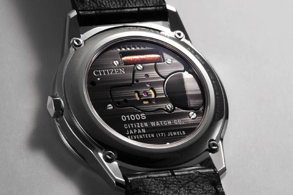 The Caliber 0100 from which the watch gets its name. (Image source: Citizen)