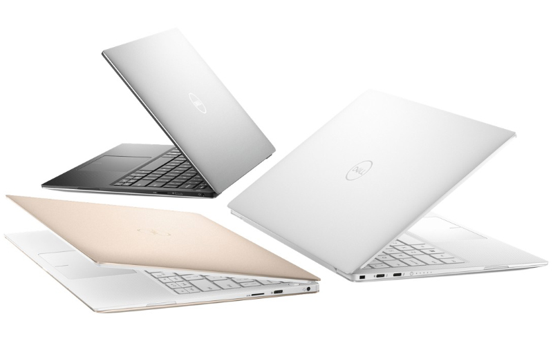 The new XPS 13 for 2019 comes in three distinct finishes.