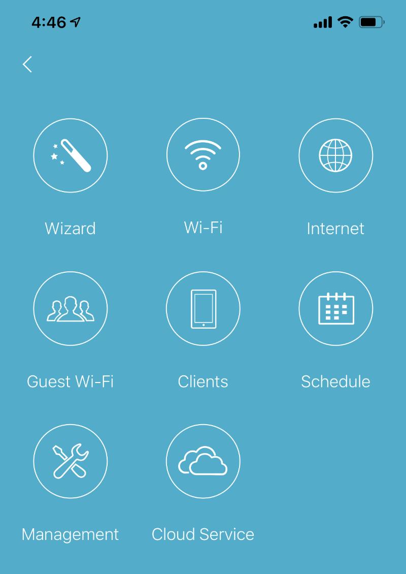 The D-Link Wi-Fi app is perfunctory and gives users access to basic features of the router.