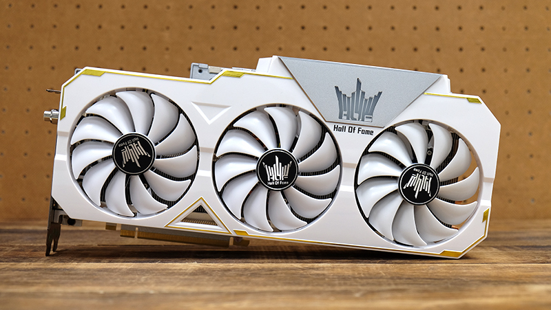 GALAX GeForce RTX 2080 Ti Hall of Fame : NVIDIA GeForce RTX