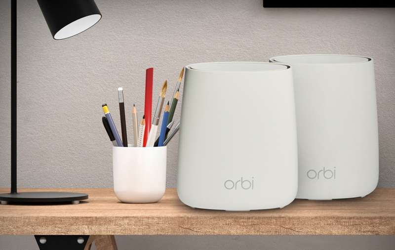 Netgear Orbi (RBK20) : Tri-band mesh networking shootout: D