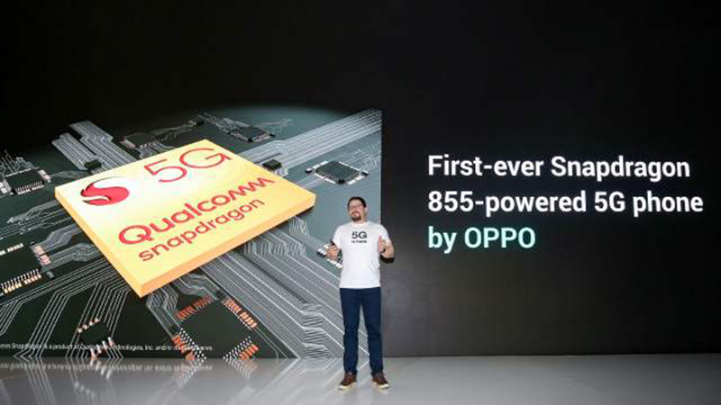 Oppo jumps onto the 5G bandwagon with a Snapdragon 855 device