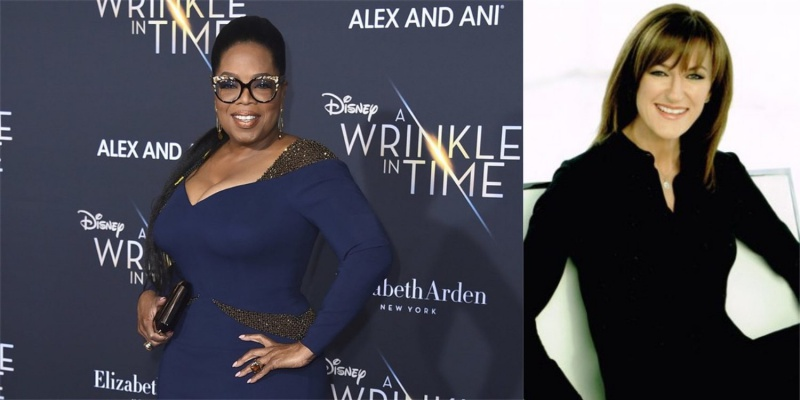 Left: Oprah Winfrey. Right: Terry Wood. <br>Image source: 9to5Mac
