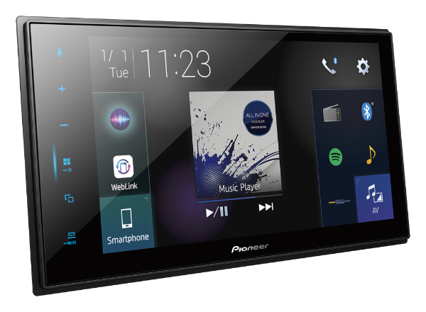 Pioneer S Latest In Car Receivers Come With New User Interface And