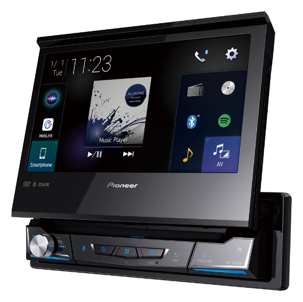 Pioneer's latest in-car receivers come with new user