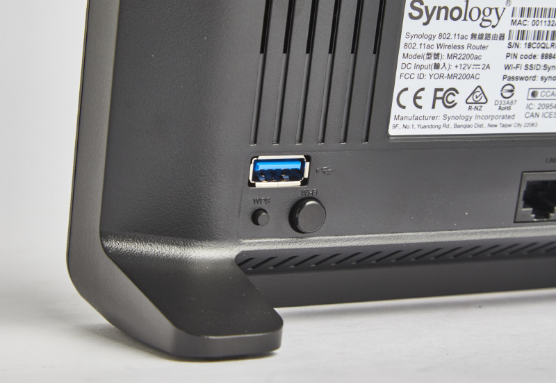 The Synology MR2200ac is the only mesh networking system here to have a USB 3.0 port.