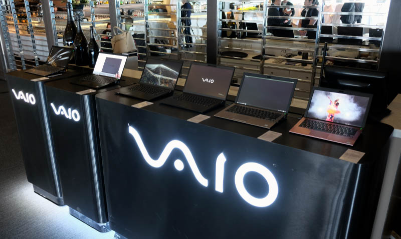 Vaio introduced three notebooks at the event: the SE14, SX14, and A12.