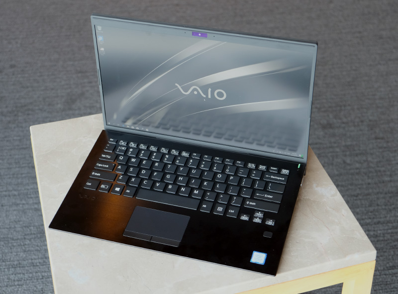 The Vaio SX14 is made in Japan and designed with the Japanese domestic market in mind.