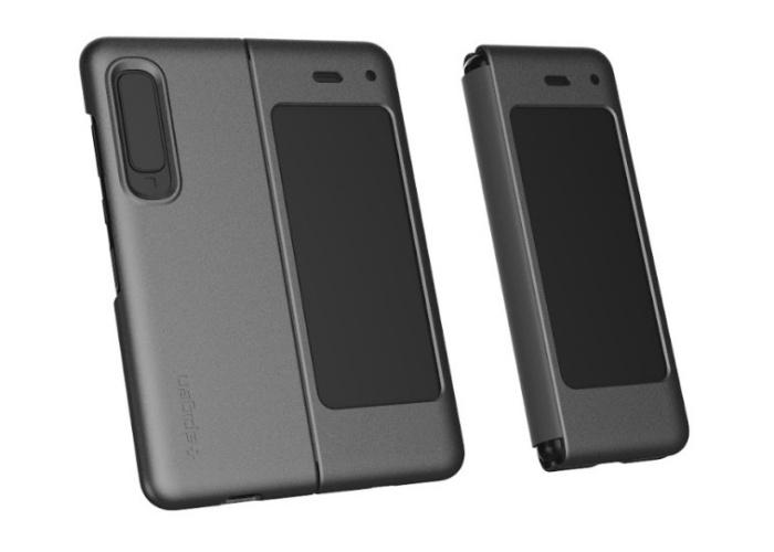 The Spigen Thin Fit case for the Samsung Galaxy Fold. <br> Image source: Spigen.