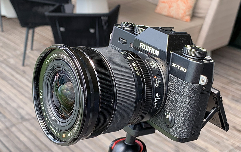 The Fujifilm X-T30 is more compact and affordable than the X