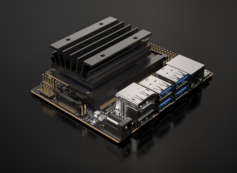 The Jetson Nano Developer Kit (80x100mm), available now for US$99.