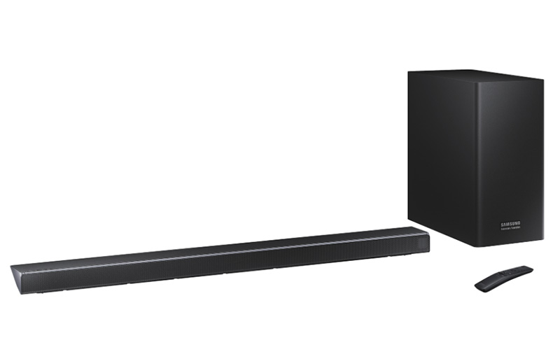 The HW-Q70R is the first of three new series of Atmos soundbars from Samsung to go on sale.