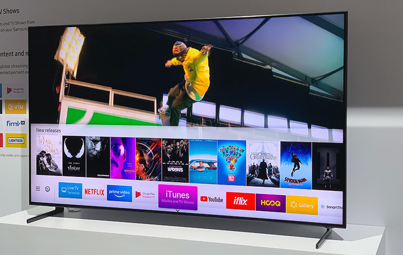 Samsung's smart TVs to get Apple TV app and AirPlay 2 support