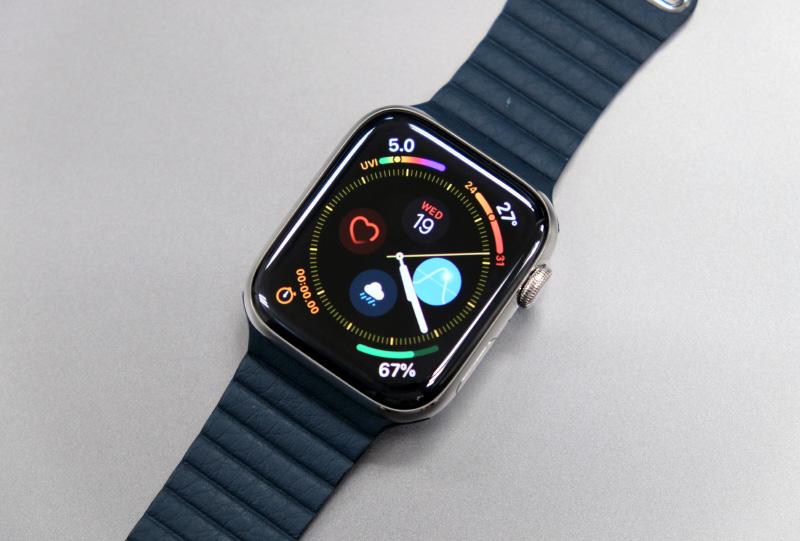The Apple Watch Series 4.