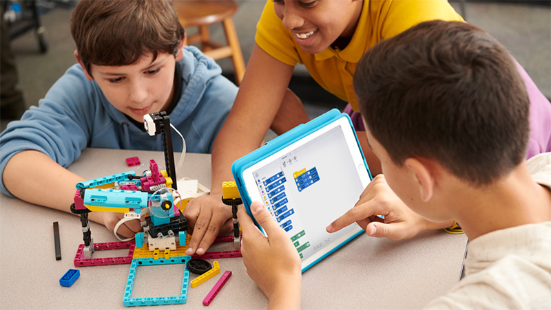 LEGO Education SPIKE Prime lets students learn STEAM hands