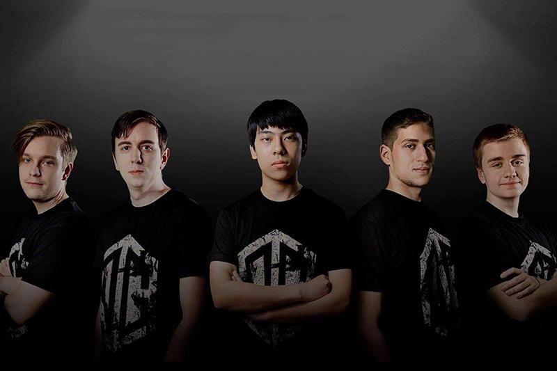 Team OG. (Image Source: Red Bull Esports)