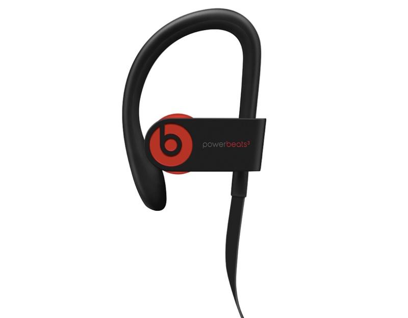 The Powerbeats 3 wireless earphones.