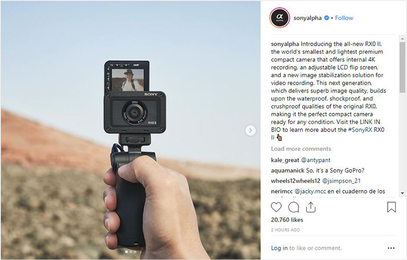 Sony RX0 II revealed: The new premium tiny tough camera