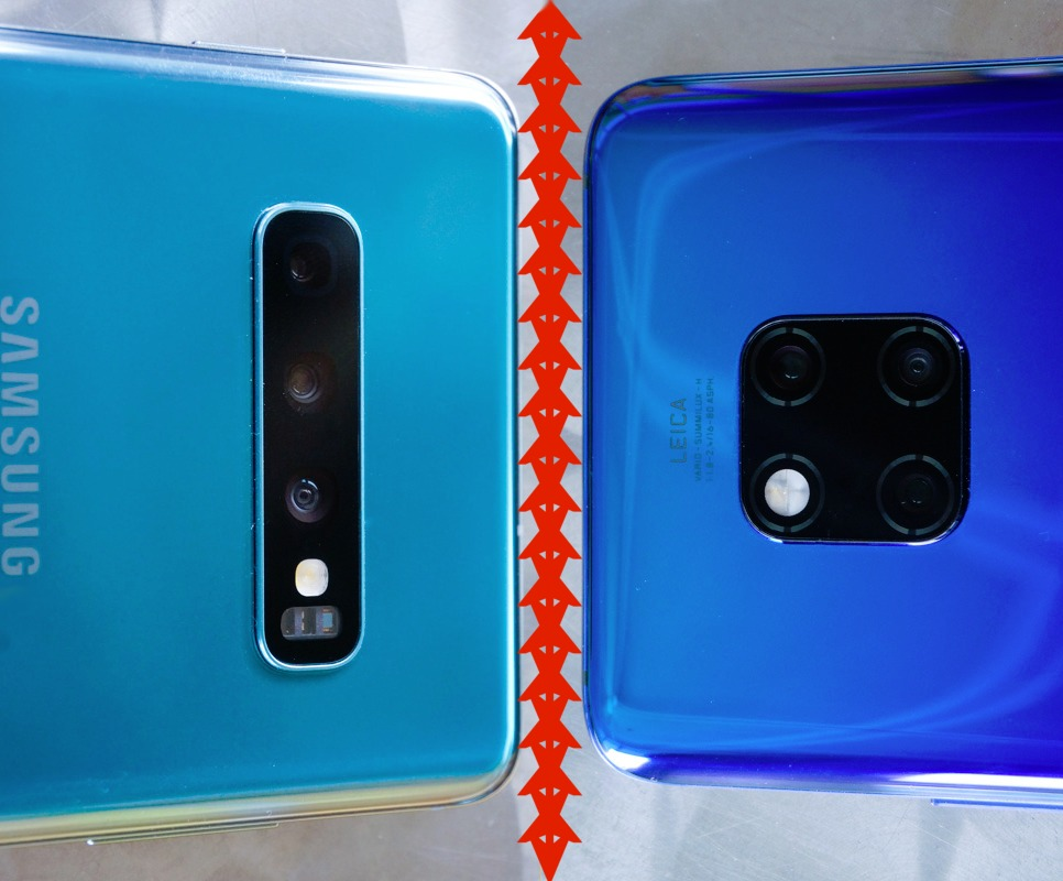Samsung Galaxy S10+ vs  Huawei Mate 20 Pro: Two flagship
