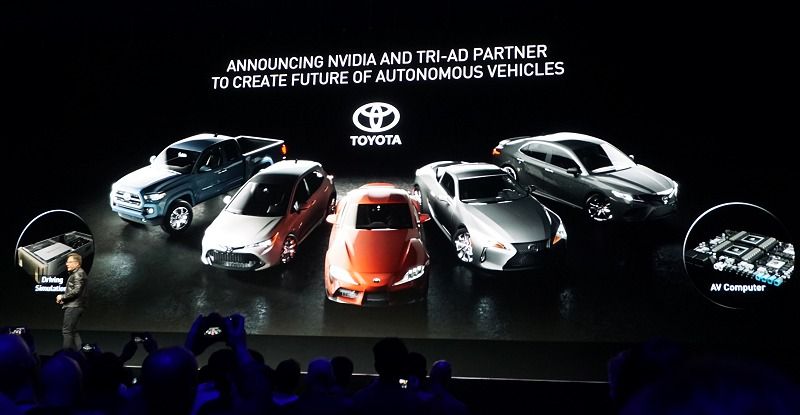 NVIDIA's autonomous car ambition gets a big boost with Drive