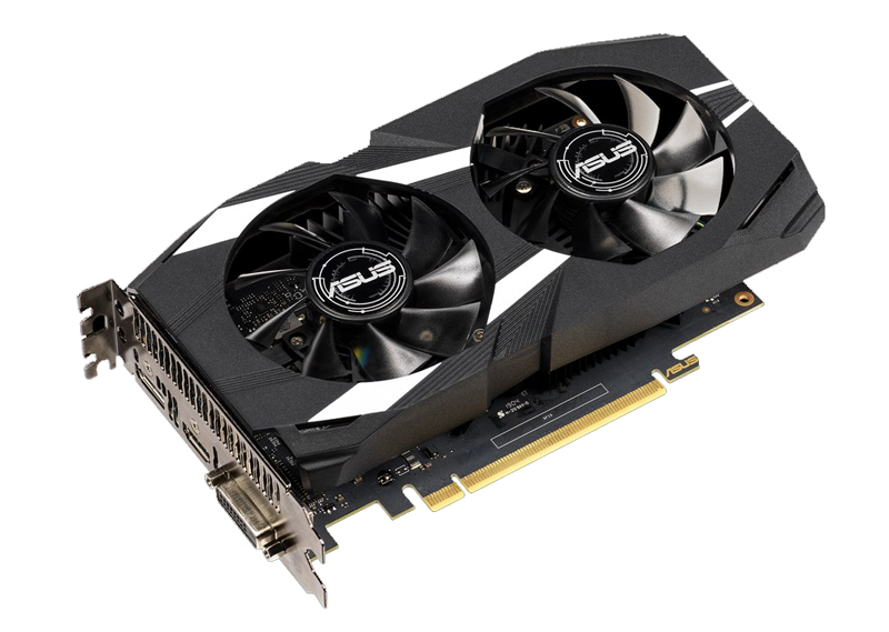 ASUS Dual GeForce GTX 1650 OC Edition 4GB GDDR5 (Image source: ASUS)