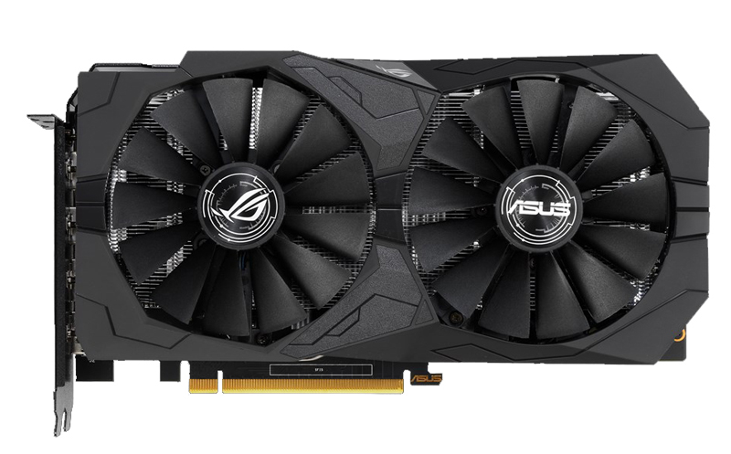 ASUS ROG Strix GeForce GTX 1650 4GB GDDR5 (Image source: ASUS)