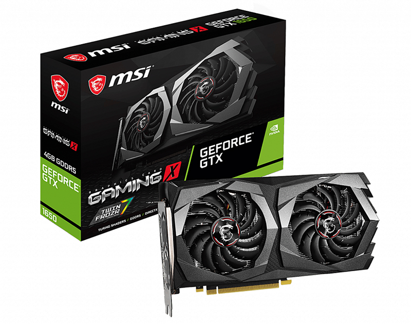 MSI GeForce GTX 1650 Gaming X 4G (Image source: MSI)