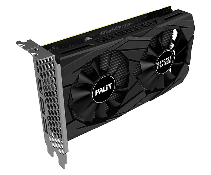 Palit GeForce GTX 1650 Dual OC (Image source: Palit)
