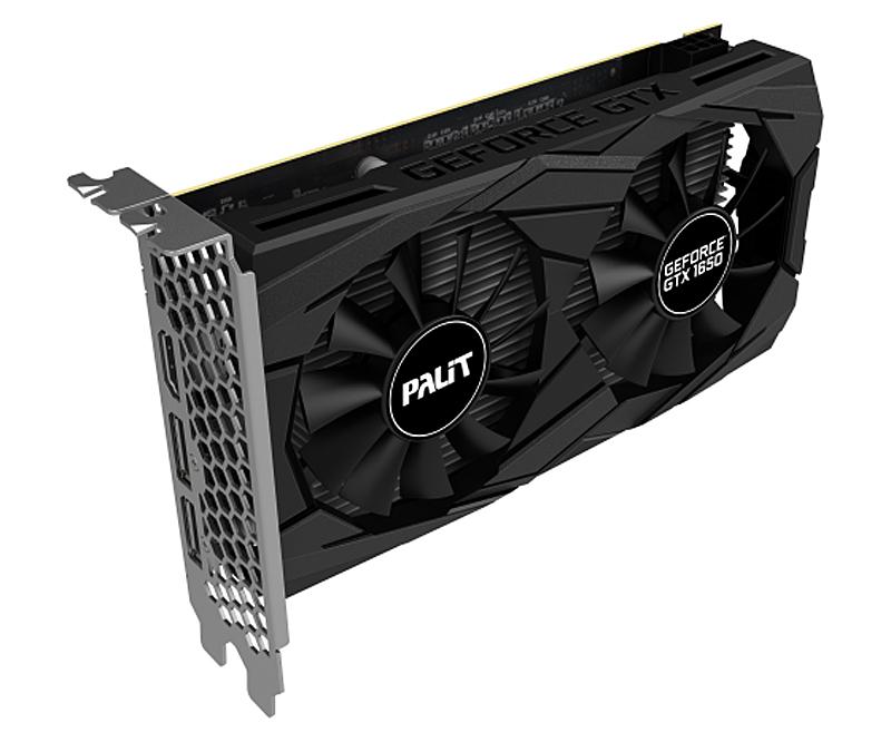 Palit GeForce GTX 1650 Dual OC (Image source: Palit)
