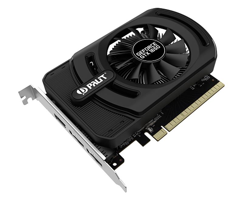 Palit GeForce GTX 1650 StormX OC+ (Image source: Palit)