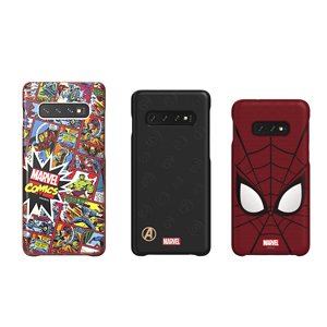 Galaxy Friends Marvel Smart Covers (for Samsung S10e, S10, and S10+ smartphones)