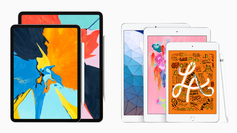 This is how Apple's iPad line-up looks like now.