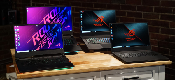 ASUS' ROG notebooks now feature Intel's newest 9th generation Core processors. (Image source: ASUS)