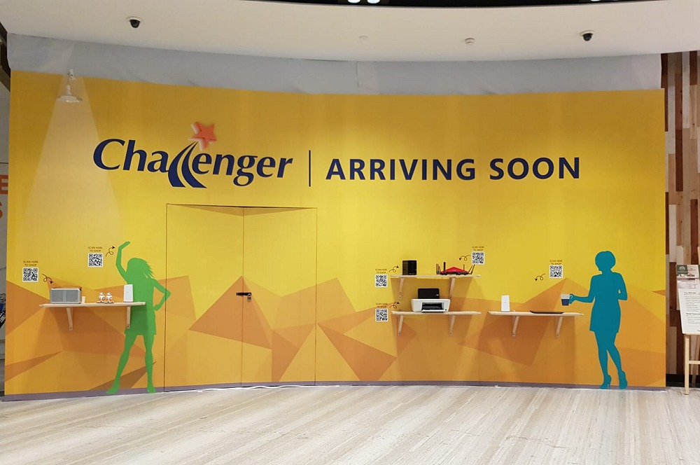 Your friendly neighbourhood Challenger store is also setting up at Jewel Changi.