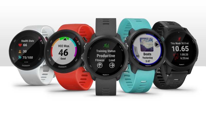 Garmin unveils 5 new Forerunner models with built-in GPS for