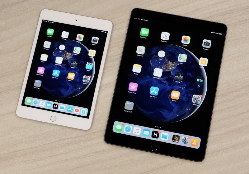 The 2019 Apple iPad Air and iPad Mini.