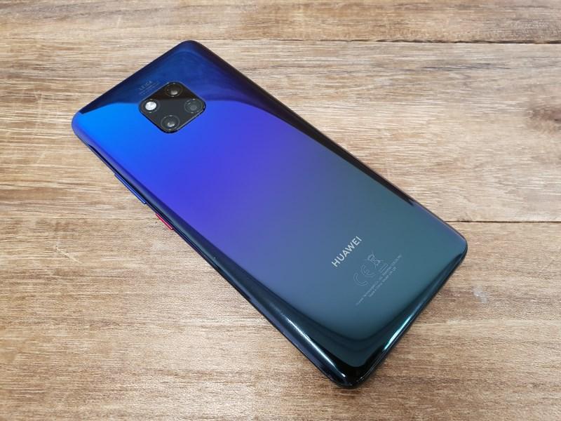 The Huawei Mate 20 Pro.