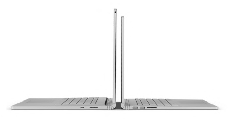 Note that the Surface Book 2 comes in two sizes. (Image source: Microsoft)