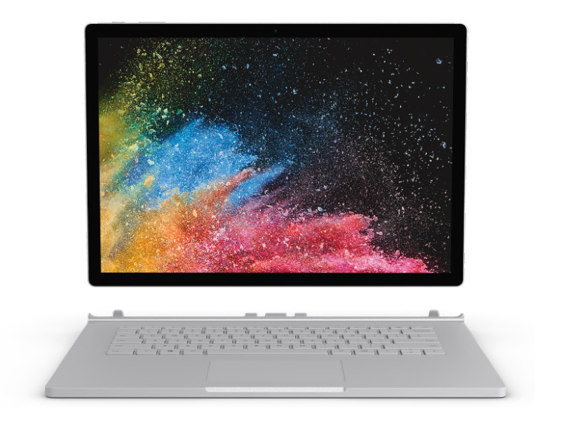 The Microsoft Surface Book 2 is part laptop, part tablet. (Image source: Microsoft)