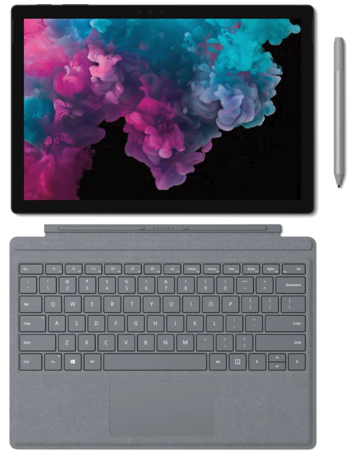 The Surface Pro 6 is Microsoft's sixth generation detachable notebook. (Image source: Microsoft)
