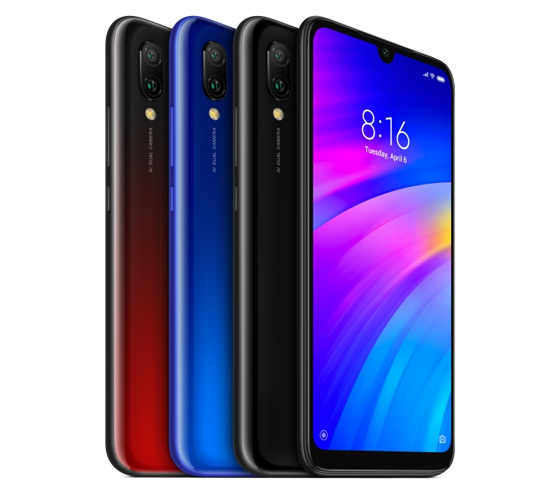 The Xiaomi Redmi 7. <br>Image source: Xiaomi