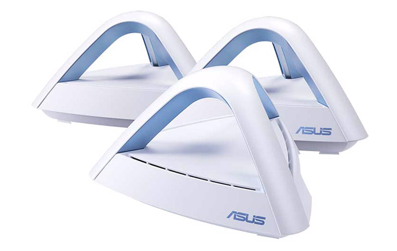 7fb4ec7706a The ASUS Lyra Trio is a 3-pack AC1750 dual-band mesh system designed to  blanket homes up to 5,400 sq. ft. with Wi-Fi. In addition to seamless  wireless ...