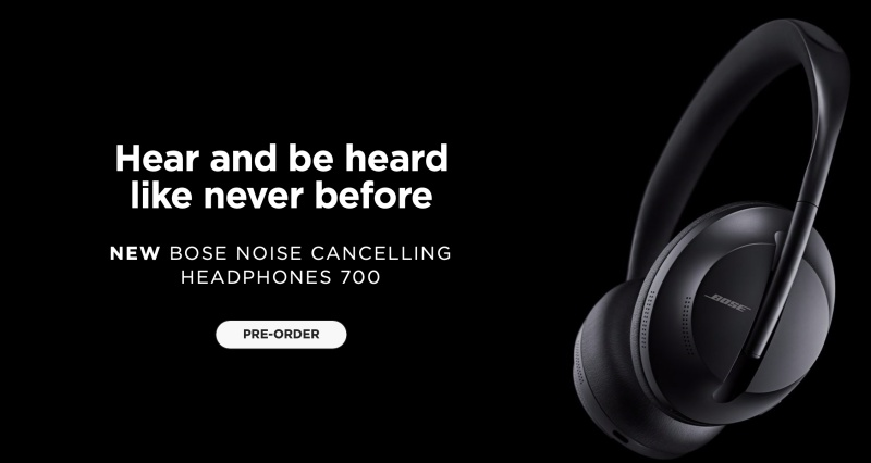 The Bose Noise Cancelling Headphones 700 is now available for pre-order.