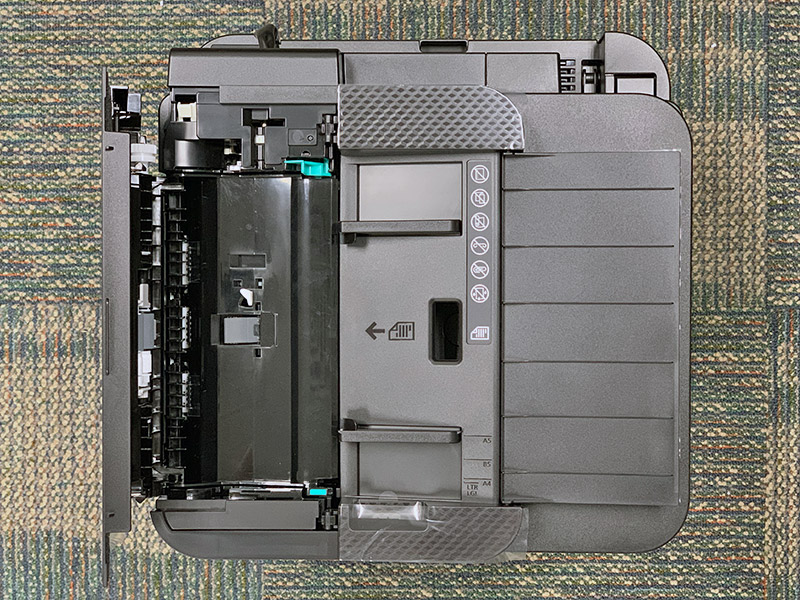 If you do a lot of copying, scanning, or faxing of multi-page, two-sided documents, get a printer that's equipped with a duplex ADF. How can you find out if a printer has this function? It will be stated in the specs sheet.
