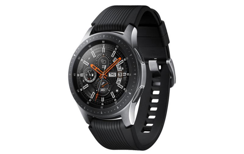 The Samsung Galaxy Watch.