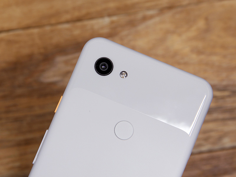 The Pixel 3a has the same rear camera as the Pixel 3, but it's missing the flagship's spectral and flicker sensor.
