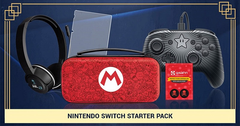 d76967317e7 Getting a Nintendo Switch for the school holidays and are on the lookout  for accessories too? Take note that Qisahn on Qoo10 is selling this  Nintendo Switch ...